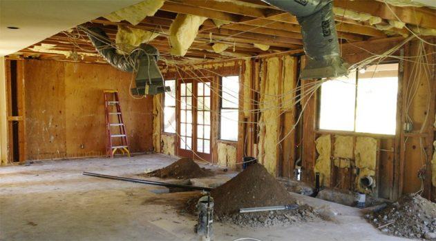 remodelación de casa