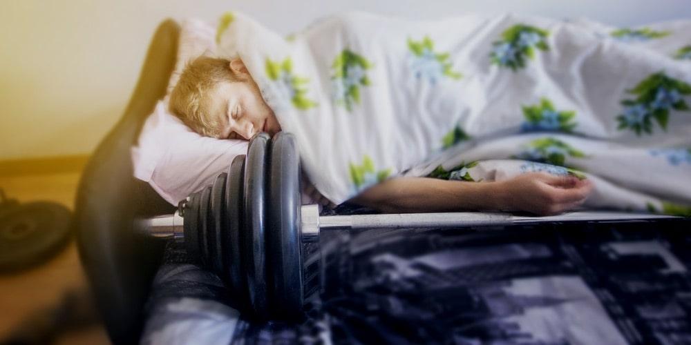 los atletas necesitan dormir