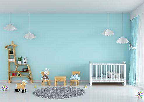 cuarto de bebé remodelado